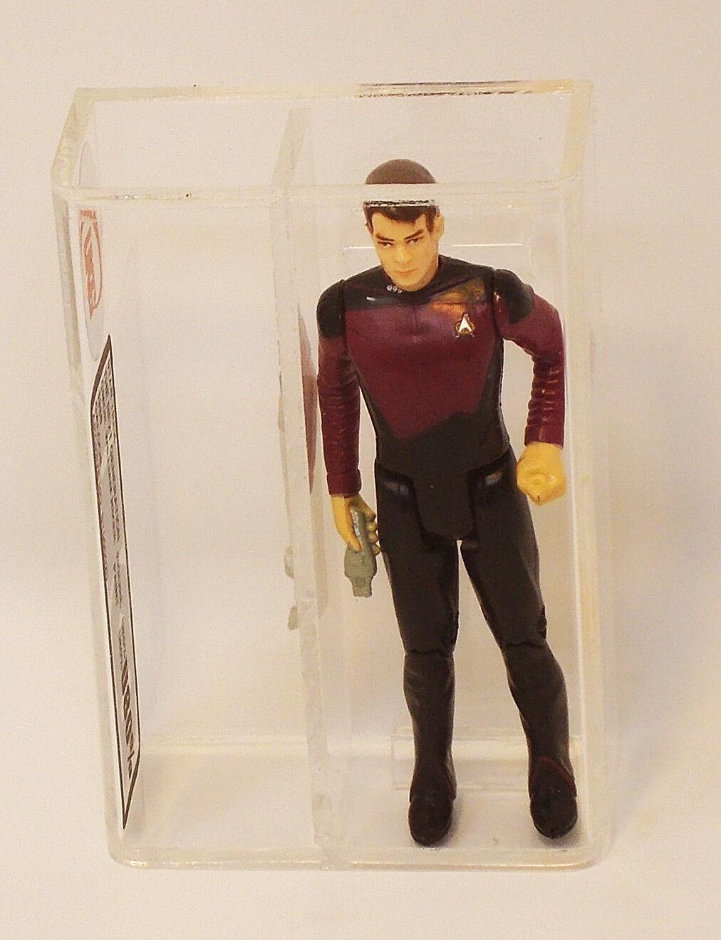 Star Trek TNG Riker 1988 Galoob UKG U80