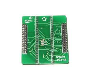 Tl866ii+ Programmer Tsop 48 Nand Base Adaptateur | Nand 08-afficher Le Titre D'origine Le Plus Grand Confort