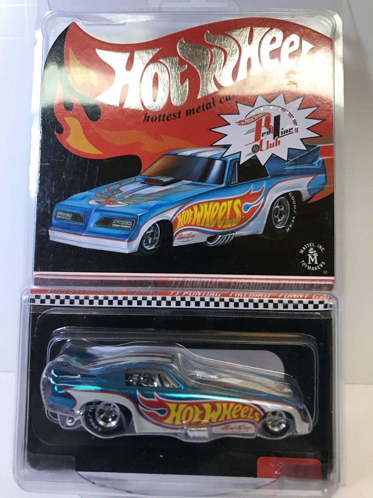 Hot Wheels 2014 selecciones'77 Pontiac Firebird diverdeido RLC coche nuevo en caja