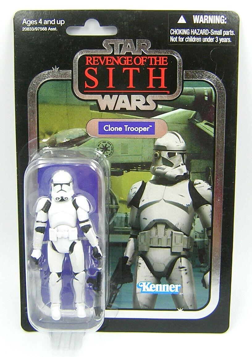 Star Wars Vintage Collection  VC15 Clone Trooper FOIL Variant  livraison directe et rapide