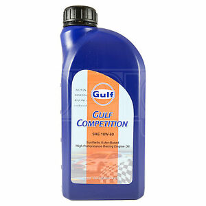 Gulf Competition 10w 60 Racing Engine Oil 10w60 1