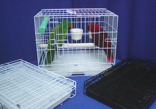 PERFECT PARROT TRAVEL CAGE 3 cups. pedicure perch. light weight 20w16h13d
