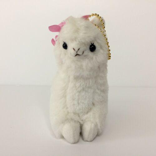 AMUSE Paradise Eden Alpacasso White Girl 12cm Arpakasso Alpaca Plush Japan TTO