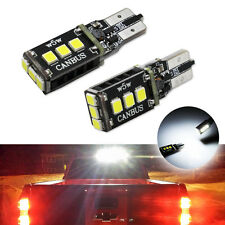 2x White 9-SMD-2835 LED Bulbs For Ford Chevy GMC High Mount 3rd Brake Stop Light