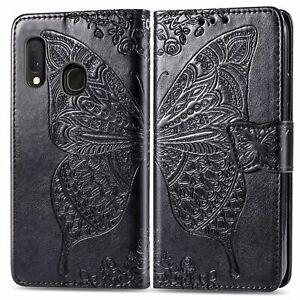 Coque etui housse de protection pour Samsung Galaxy A20E type portefeuille Pap