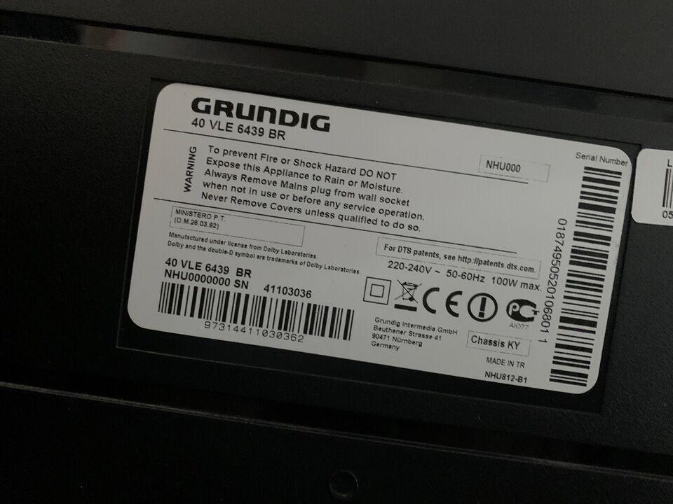 """Grundig, 40"""", God"""