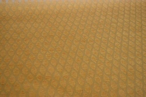 Caravan Soft Furnishing Fabric Gold//Beige Trellis Design Upholstery Cushion