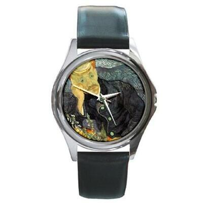 Array - portrait of dr  gachet by van gogh round metal watch ww43   ebay  rh   ebay com