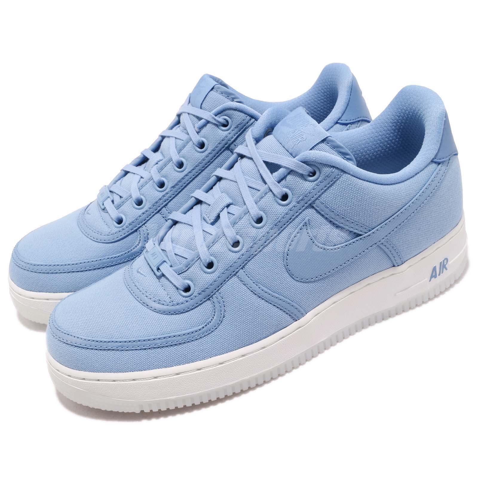 Nike Force 1 Baja diciembre Retro Qs Air CNVS diciembre Baja Cielo Azul para Hombre Zapatos  AF1 AH1067401 e43674