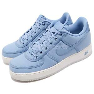 221bf04ece54 Nike Air Force 1 Low Retro QS CNVS December Sky Blue Mens Shoes AF1 ...