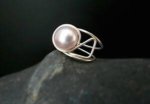 HANDMADE-Genuine-Pearl-Ring-50017