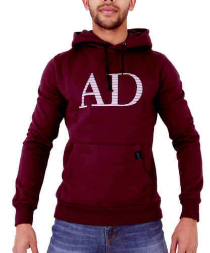 New Mens Hoody Hooded Gym Casual Designer Logo Sweatshirt All Sizes Big