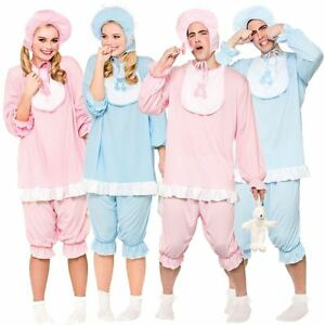 Image is loading Adult-Big-Cute-Cry-Baby-Fancy-Dress-Costume-  sc 1 st  eBay & Adult Big Cute Cry Baby Fancy Dress Costume Mens Ladies Outfit ...