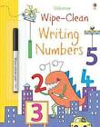 Wipe-Clean Writing Numbers by Jessica Greenwell (Paperback, 2016)