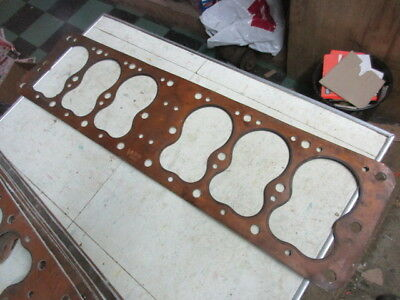 NORS 1935-48 Plymouth 1934-48 Dodge 6 Cyl Engine Head Gasket Felpro 7075S