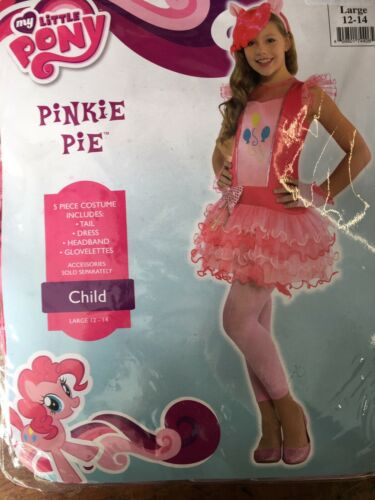 My LIttle Pony Pinkie Pie Child/'s Costume Small 4-6
