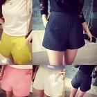 Fashion Womens Summer High Waist A-Line Shorts Pants Casual Wide Leg Hot Shorts