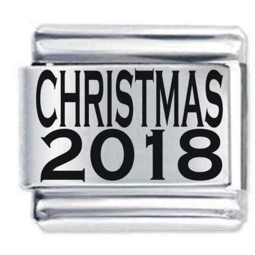 Daisy Charm se adapta tamaño clásico italiano pulsera con dijes Nomination Navidad 2018