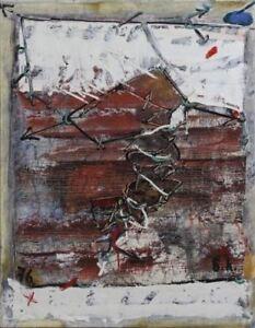 Bella-Levikova-Moscow-Russian-Rare-Artwork-Oil-on-Canvas-1967-Art-Decor-NYC