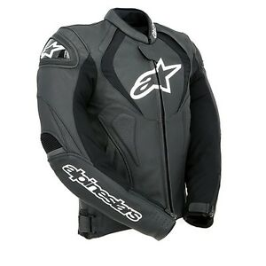 Alpinestars-Jaws-Black-Leather-Motorcycle-Jacket-Size-52-Now-Only-275-00