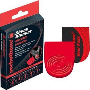 Sorbothane-Heel-Pads-Shock-Stopper-Sports-Insoles-Impact-Cushioning-Padding