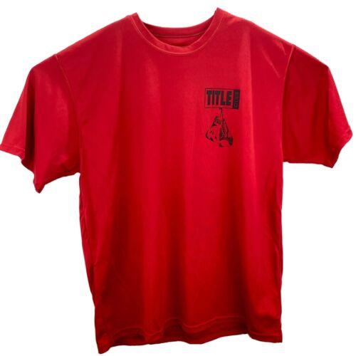 Mens 2XL Shirt Title Boxing Club Dri Fit Augusta S