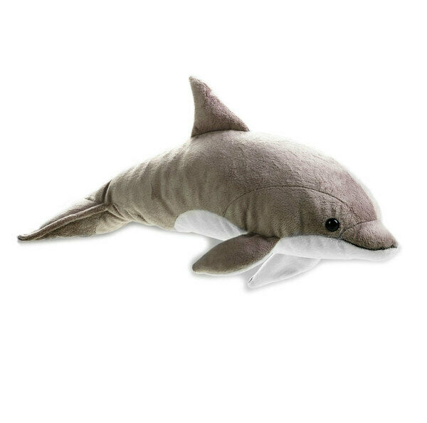 "Dolphin soft plush toy 17""/43cm stuffed animal National Geographic by Lelly NEW"