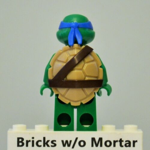 New Genuine LEGO Leonardo in SCUBA Gear Minifig TMNT Turtles 79121