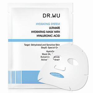 mask面膜_[DR. WU] Ultimate System Microinject Hydrating Face Mask w/ Hyaluronic Acid 3pcs | eBay
