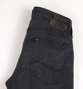 Lee Hommes Luke Slim Jeans Jambe Droite Taille W28 L32 ASZ368