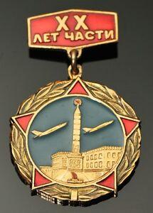 20-Year-Anniversary-Of-Minsk-Air-Force-Unit-VTG-Soviet-Russian-Pin-Badge