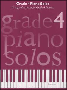 Grade 4 Piano Solos Music Book 16 Enjoyable Pieces
