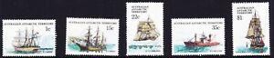 1980-AAT-Australia-Post-Design-Set-Ships-of-the-Antarctic-PART-II-MNH