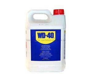 6-22-L-WD40-WD-40-Rostloeser-Kontaktspray-Schmiermittel-5-LITER