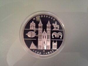 10 Euro Münze 2005 1200 Jahre Magdeburg Pp Ebay