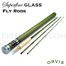 "Orvis Superfine Glass 764-3 Fly Rod - 4wt, 7'6"", 3 piece - FREE SHIPPING in U.S."