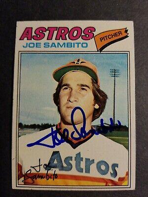 Baseball Cards Houston Astros 1980 Topps #571 Joe Sambito