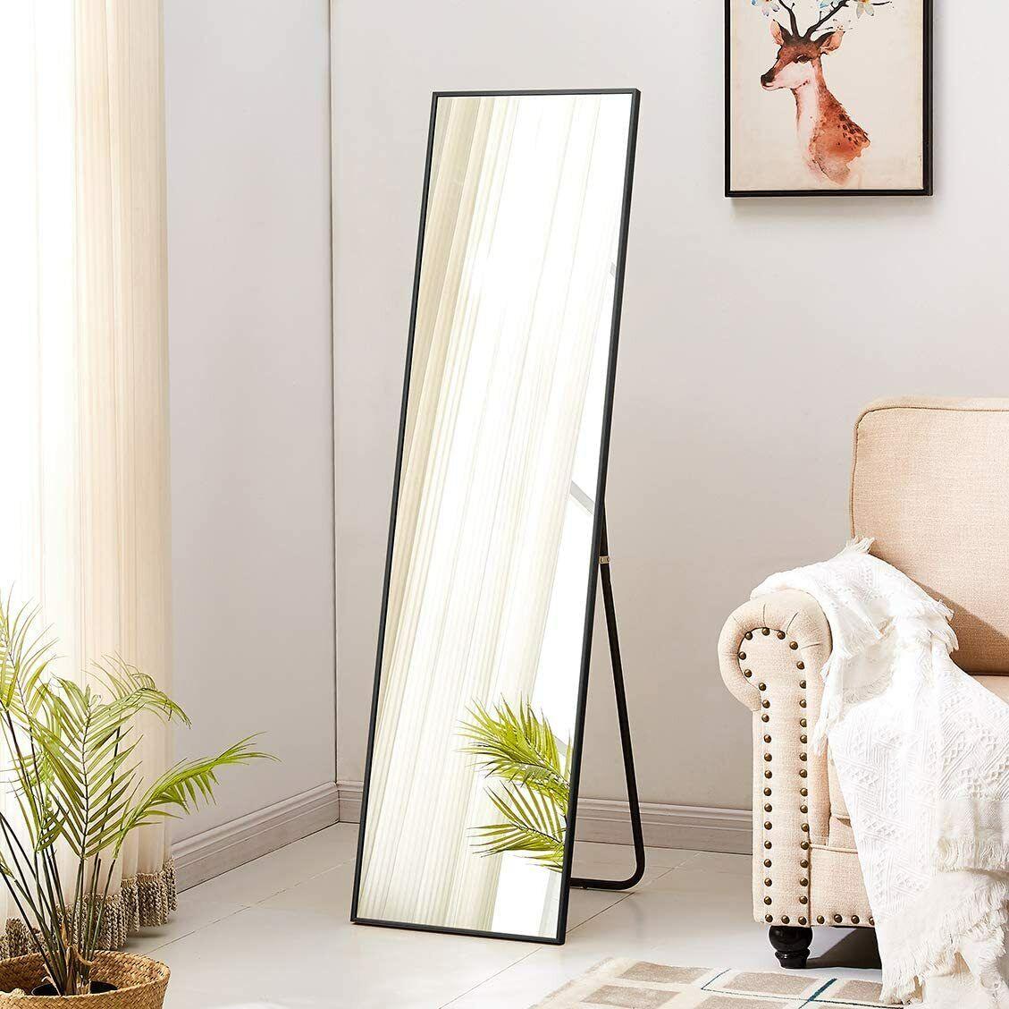 Full Length Standing Mirror Home Hallway Dressing Decor Glass Wall For Sale Online Ebay