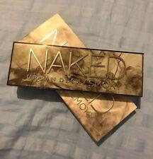 Urban Decay Naked SMOKY Palette 12 Eyeshadows 1 Double Ended Brush $54 NIB