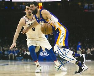 Image is loading NIKOLA-MIROTIC-signed-NEW-ORLEANS-PELICANS-8X10-PHOTO- 04254aa60