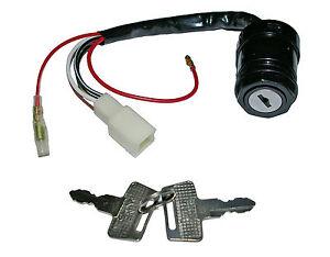 Kawasaki AR80 ignition switch - 6 wires  (1981-1990) + AE80 (1981-1984)