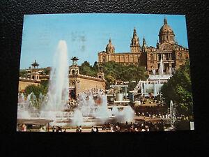 Espana-Tarjeta-Postal-Barcelona-Palacio-Nacional-Del-Art-1965-cy27