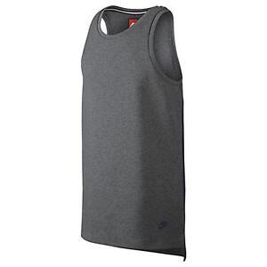 e1b261532545e Men s Nike T-Shirt Tech Fleece Tank Top Athletic Fashion Casual ...