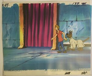 The 13 Ghosts Of Scooby-doo Cel And Copy Background