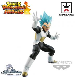 Figurine Dragon Ball Heroes Vegeta Super Saiyan God Blue Transcendence Vol.2
