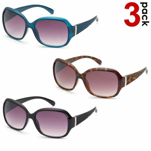 3 Occhiali da Sole ReflexxVision UV 400 Donna modello Ragusa Colori Assortiti
