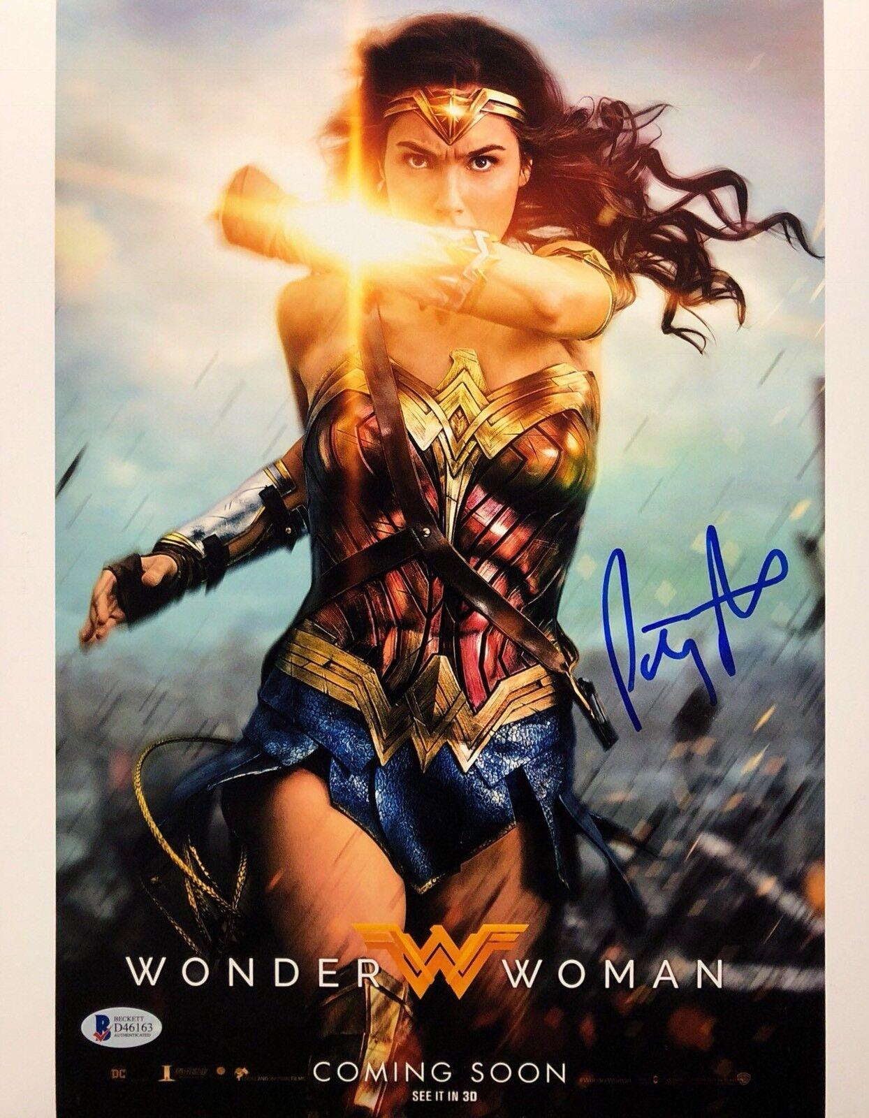 Patty Jenkins Signed 'Wonder Woman' 11x14 Photo BAS Beckett D46163