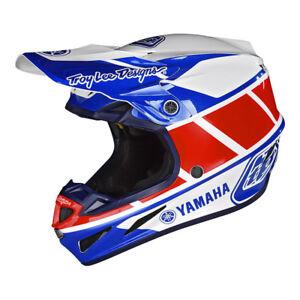 2018-Troy-Lee-Designs-TLD-Adult-SE4-Yamaha-RS1-Composite-Helmet-White-MX-ATV