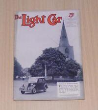 THE LIGHT CAR MAGAZINE 10 Jun 1938 - Wolseley 12, Brooklands, Edinburgh Trial ++