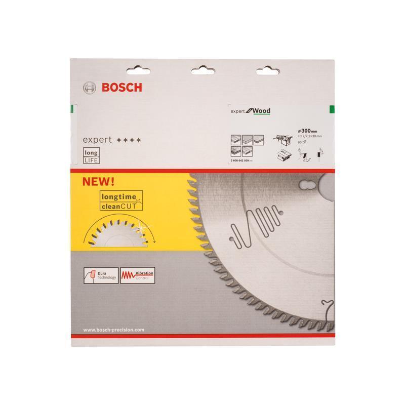 Bosch HM Sägeblatt Expert for Wood 300x30x3,2mm Z=60